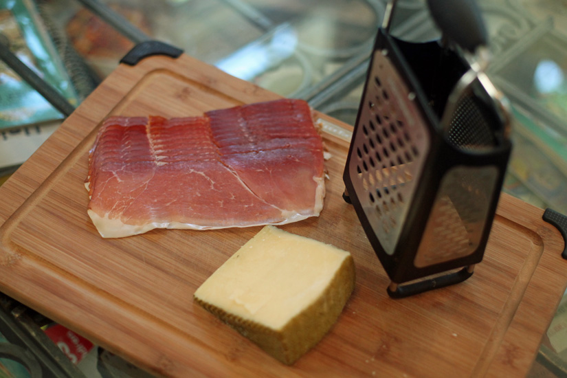 Spanish-Inspired Quesadillas, featuring Smoke Prosciutto and Iberico Cheese | The Road Home