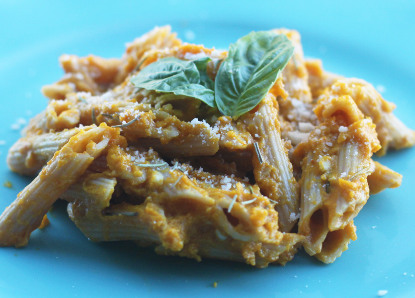 Pasta with Pumpkin-Sherry Cream   The Road Home