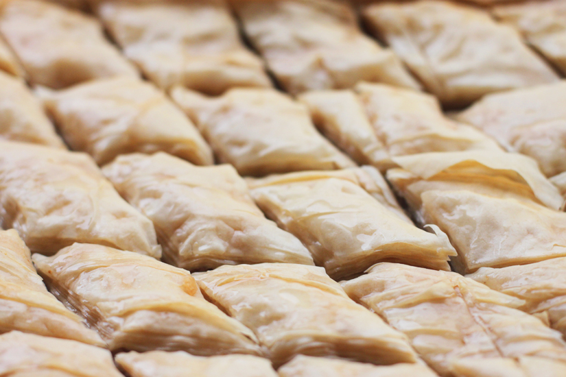 Walnut-Honey Baklava | The Road Home