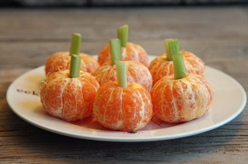 Clementine Pumpkins | The Road Home  – cancels out the candy right?