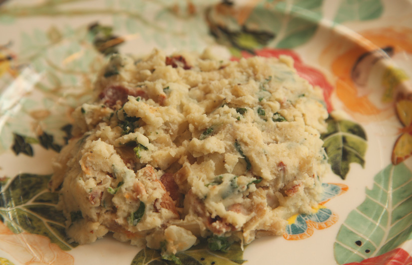 Stoemp – Belgian Mashed Potatoes with Bacon, Spinach, Caramelized Onions and SO. MUCH. BUTTER. | The Road Home