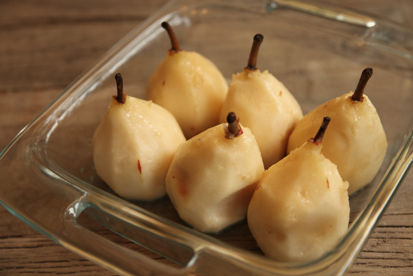 Roasted Pears In Cider and Port Wine | The Road Home - SO delicious and ridiculously easy.