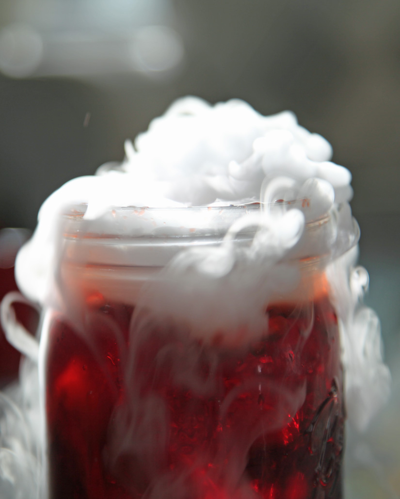 Witches Brew Punch with Dry Ice – epic halloween trick/treat | The Road Home